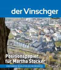 Positionspapier für Martha Stocker