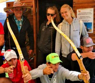 Ski Cross Nationalteam zu Gast am Watles