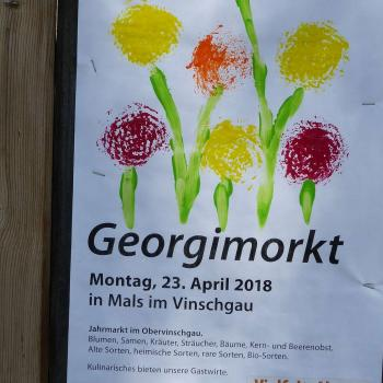 Georgimorkt 2018 in Mals; Fotos: Sepp